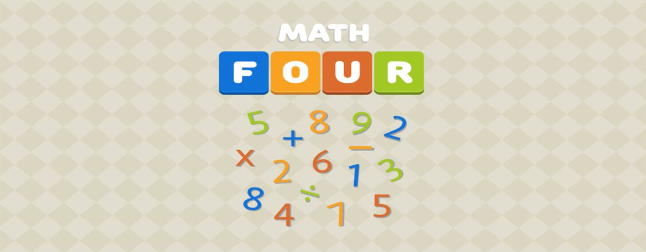Math Four! Brain Trivia Quiz