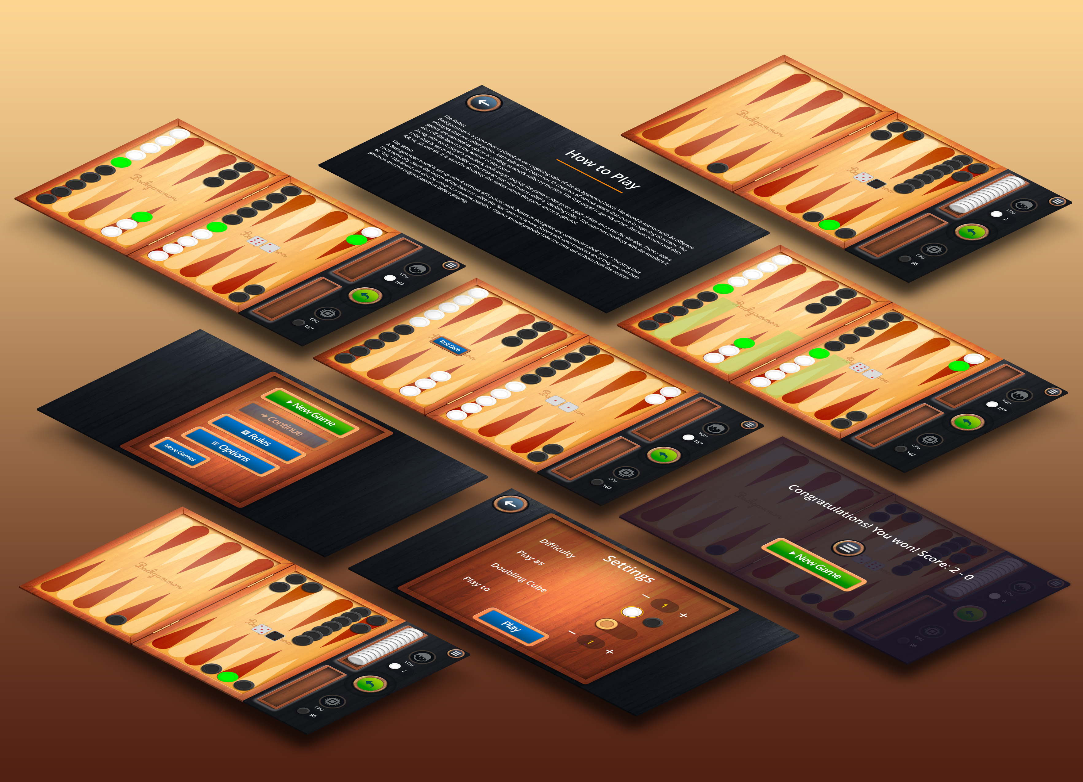 Backgammon Free Game