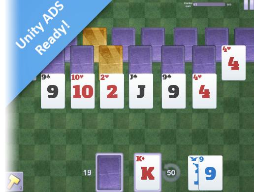 Super Chain Sum13 RankMatch Solitaire