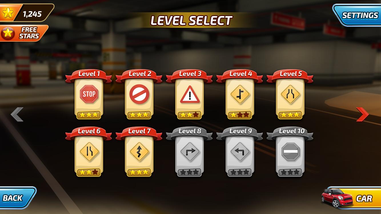 Level Screen UI