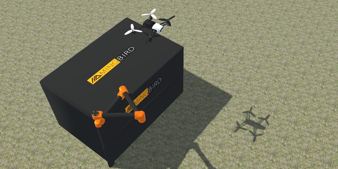 Autonomous station for drone