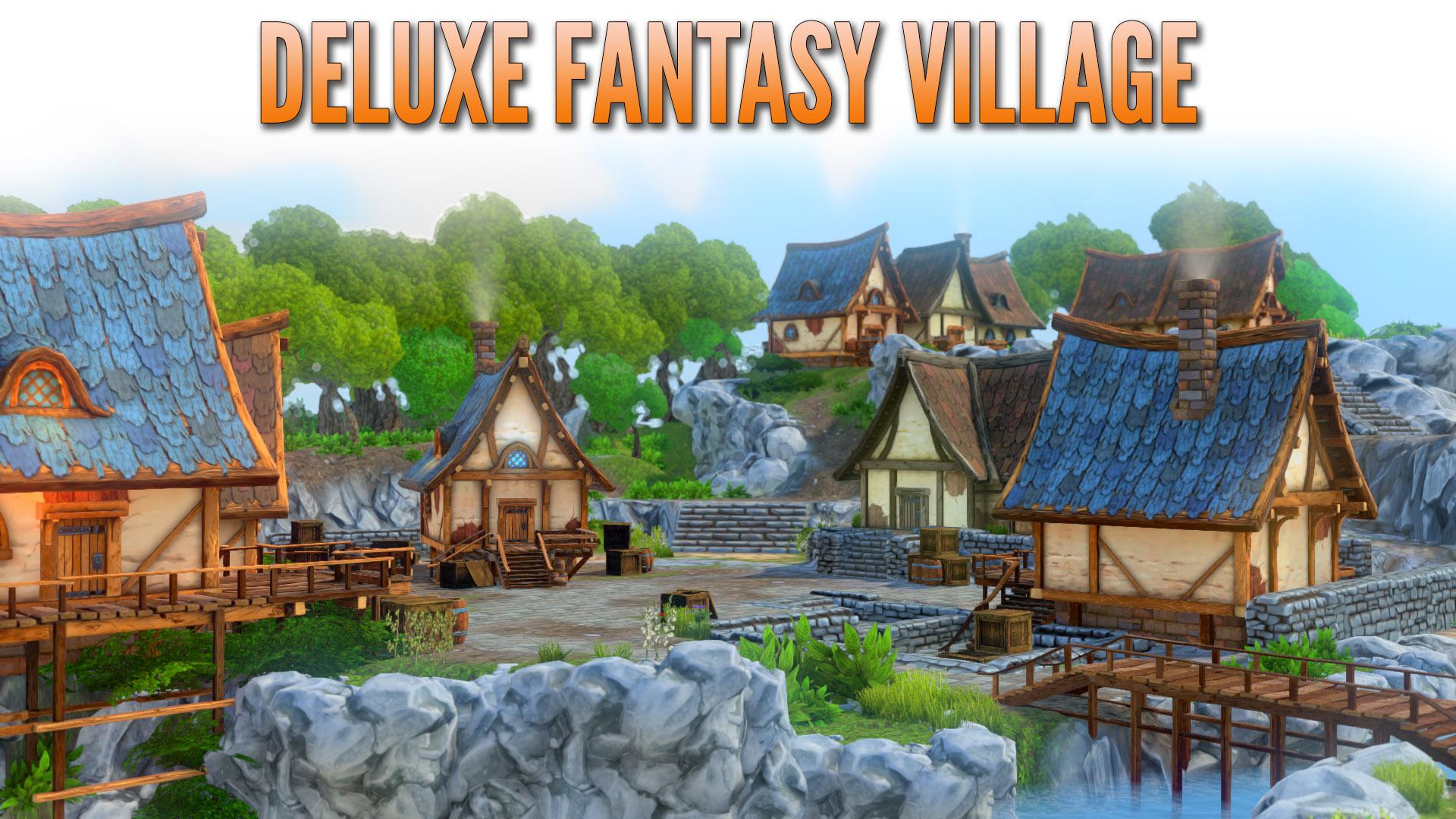 Deluxe Fantasy Village