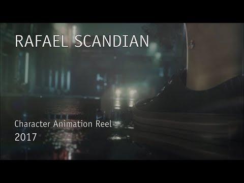 Rafael Scandian - Character Animation Reel 2017