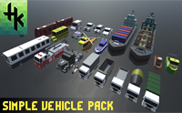 Simple Vehicle Pack