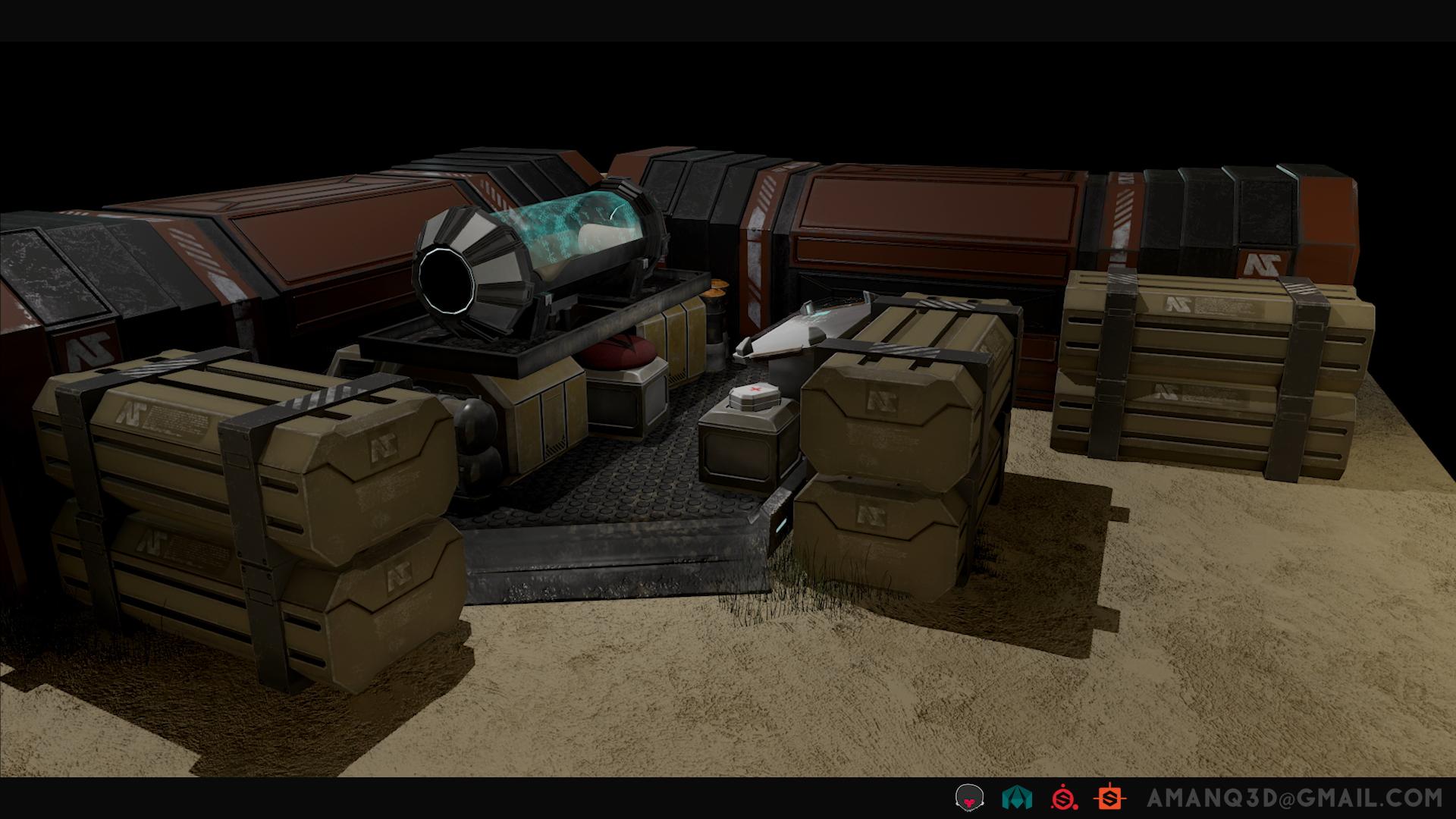 Planetside 2 Diorama