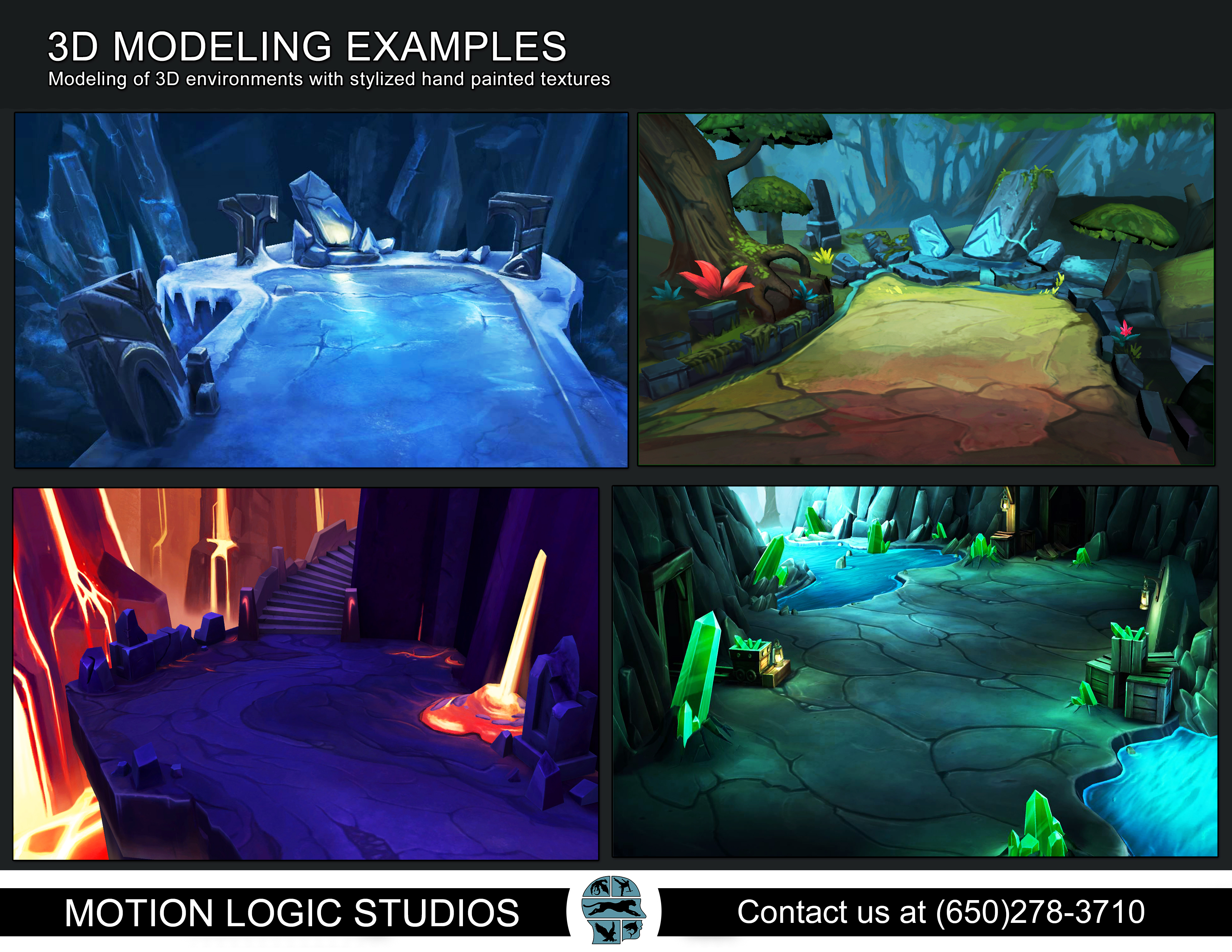 Environment Design and Modeling