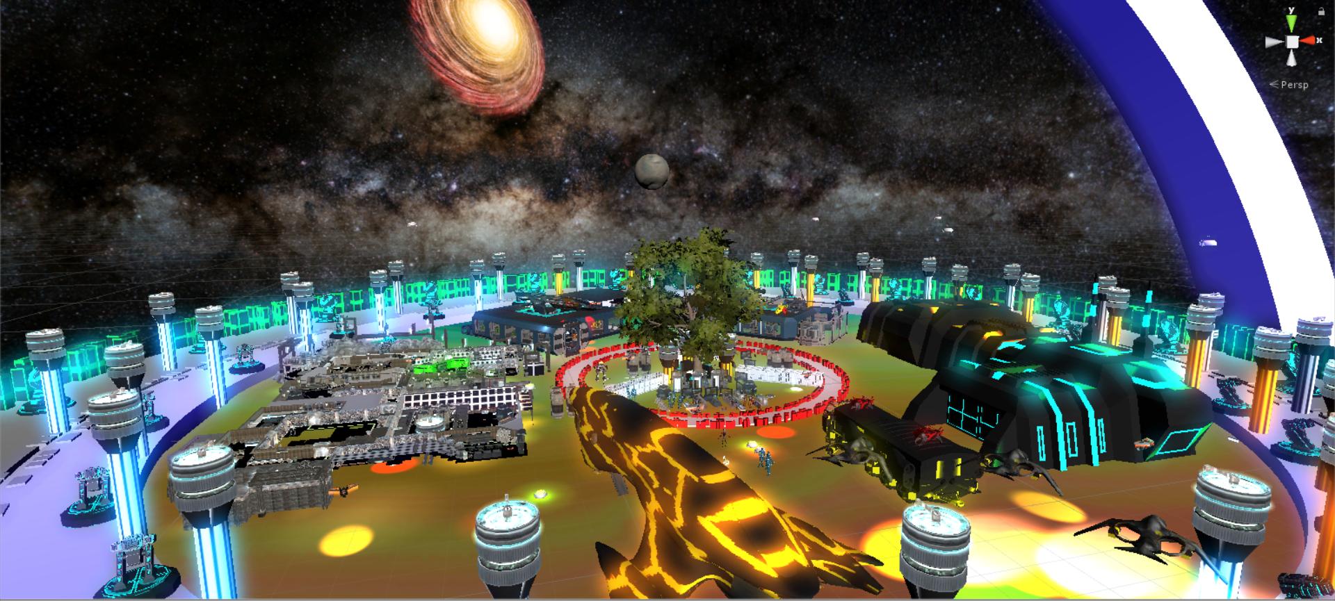 Space Flight Neon
