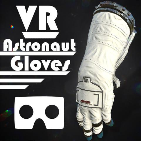Astronaut VR Hands [Animated/Optimized]