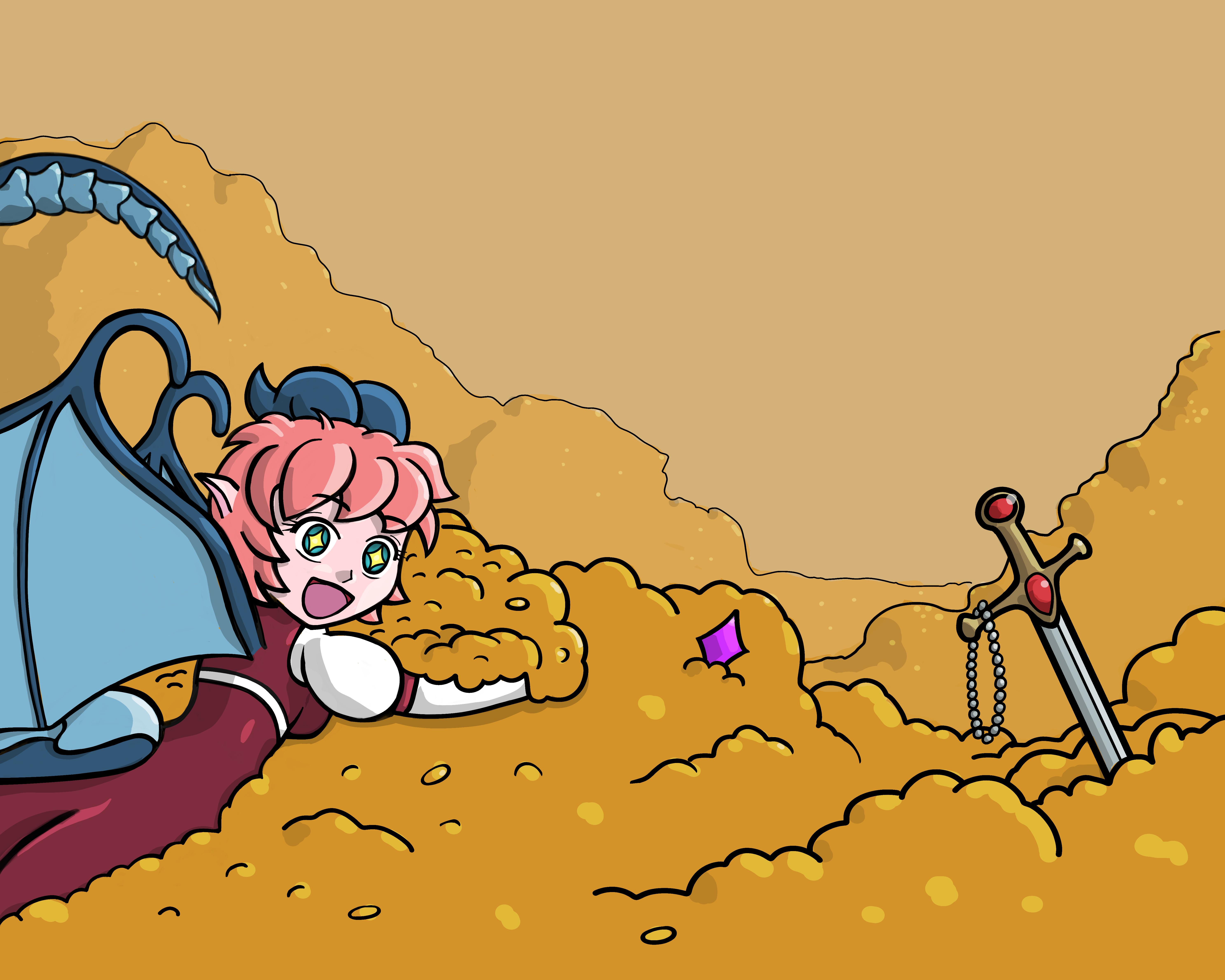 Ririko's Pilfered Treasure