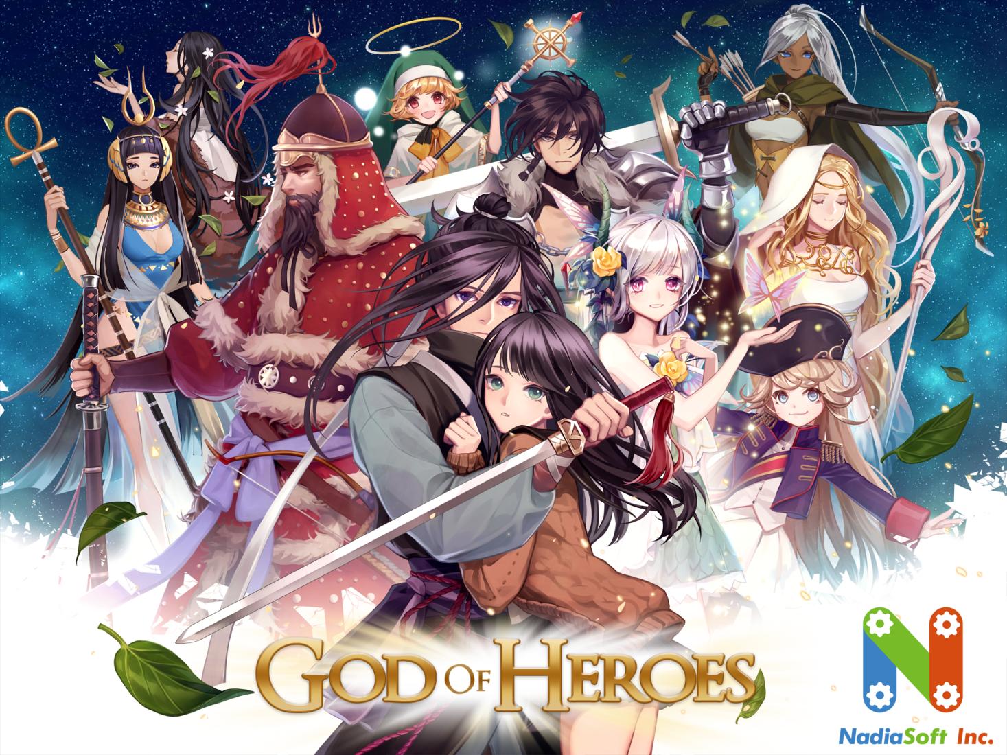 [MWU Korea '18]                   갓 오브 히어로즈              (God Of Heroes) / NadiaSoft