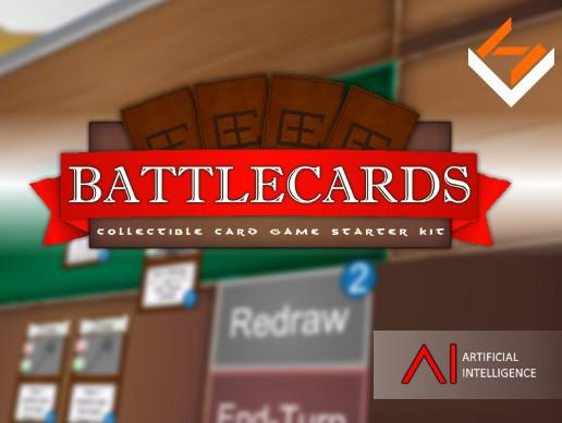 BattleCards: Collectible Card Game Starter Kit