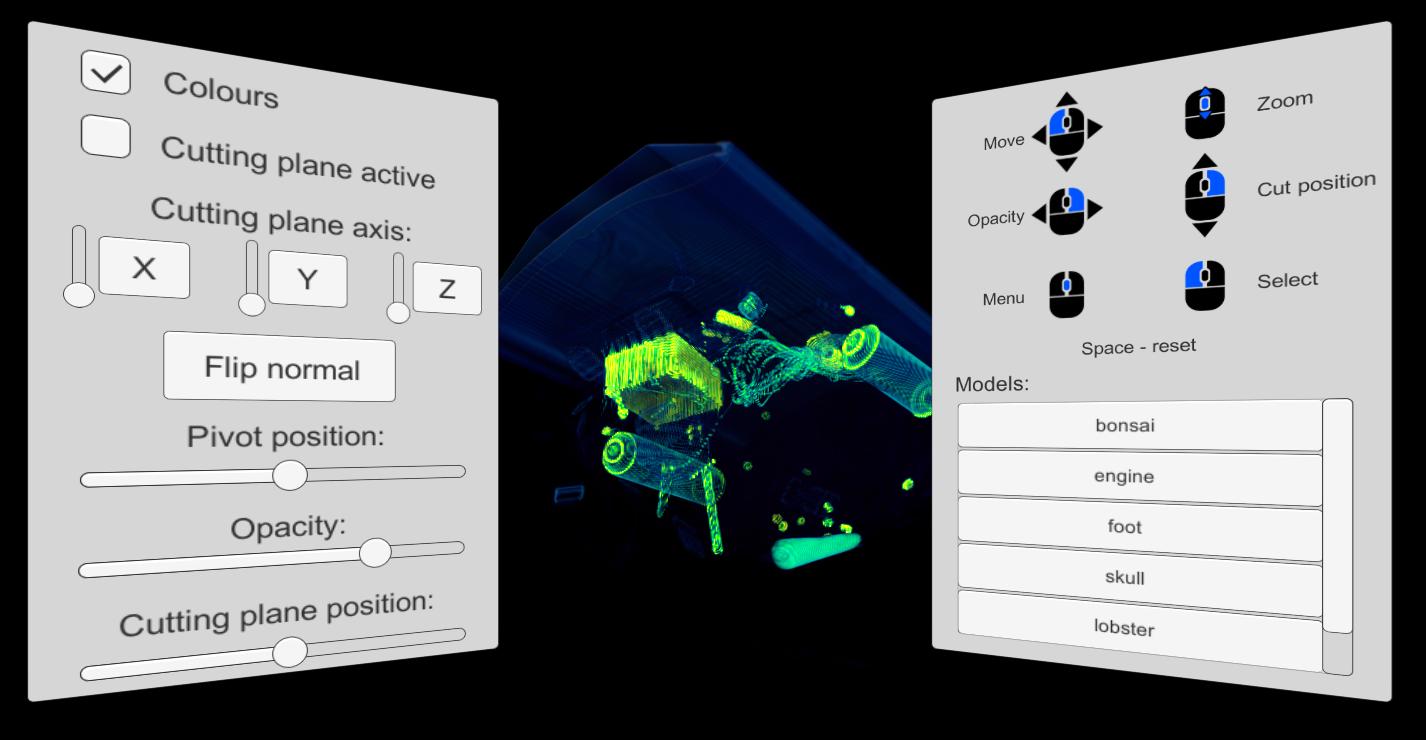 Volumetric Image Viewer for Oculus Rift