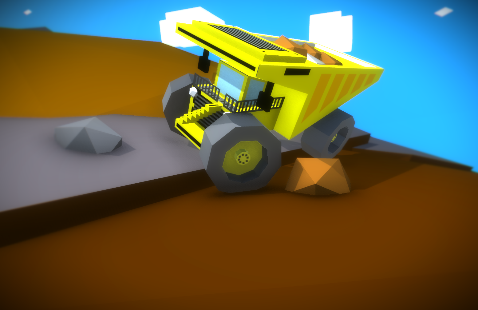 Little Dumper for Mining [LOW POLY]