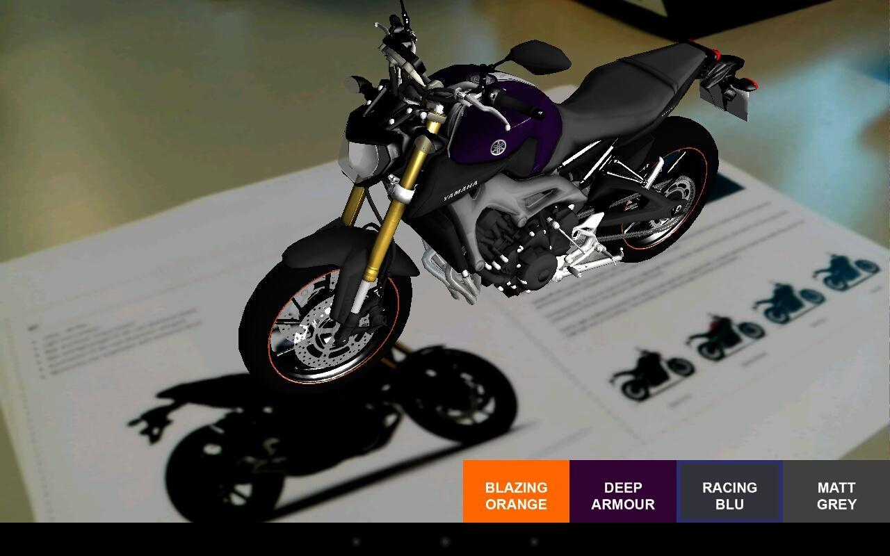 Yamaha MT Augmented Reality