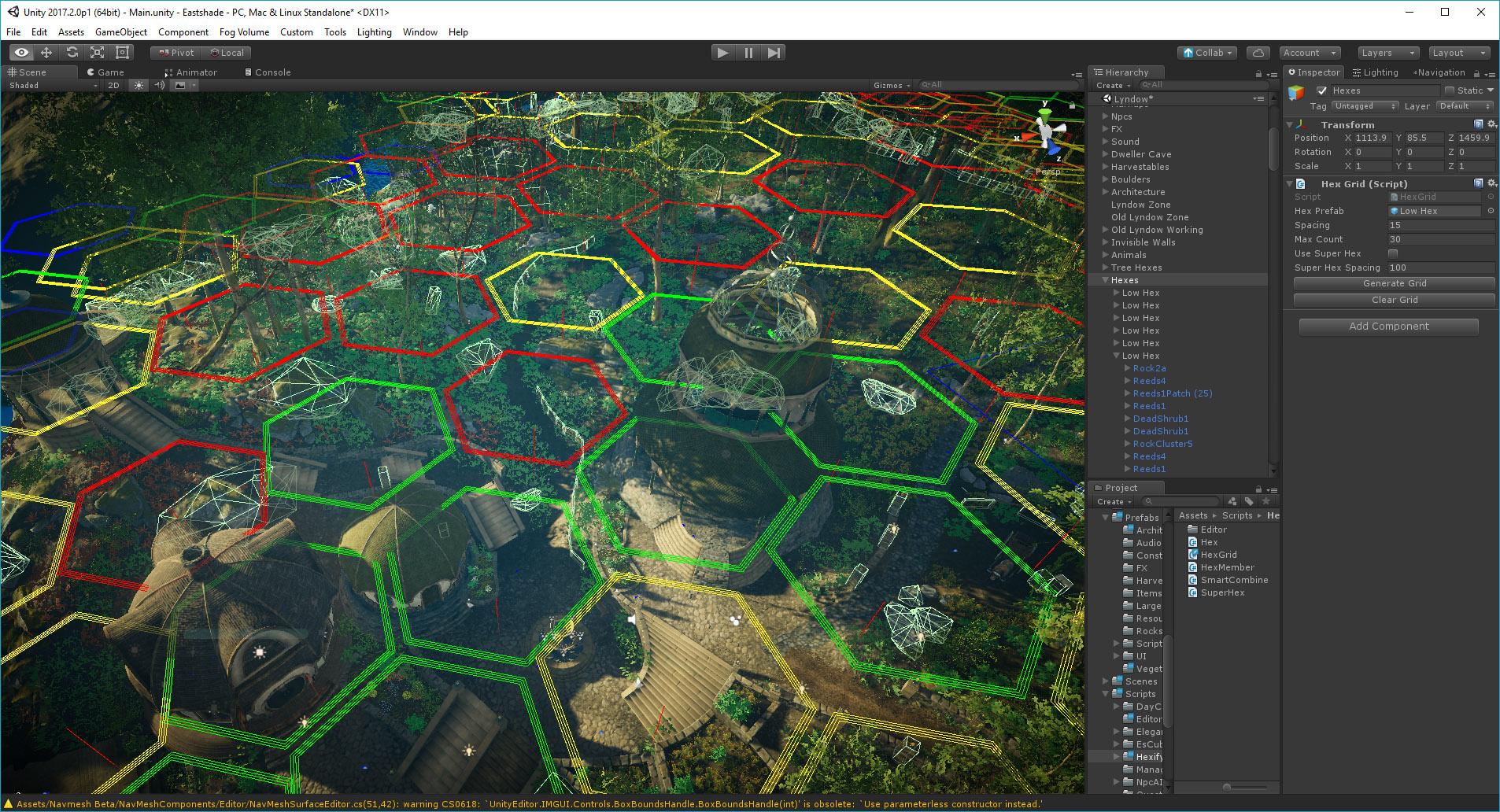 Foliage Optimization in Unity