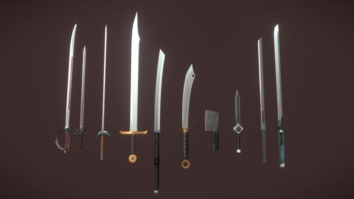 [M] PBR Sword Pack