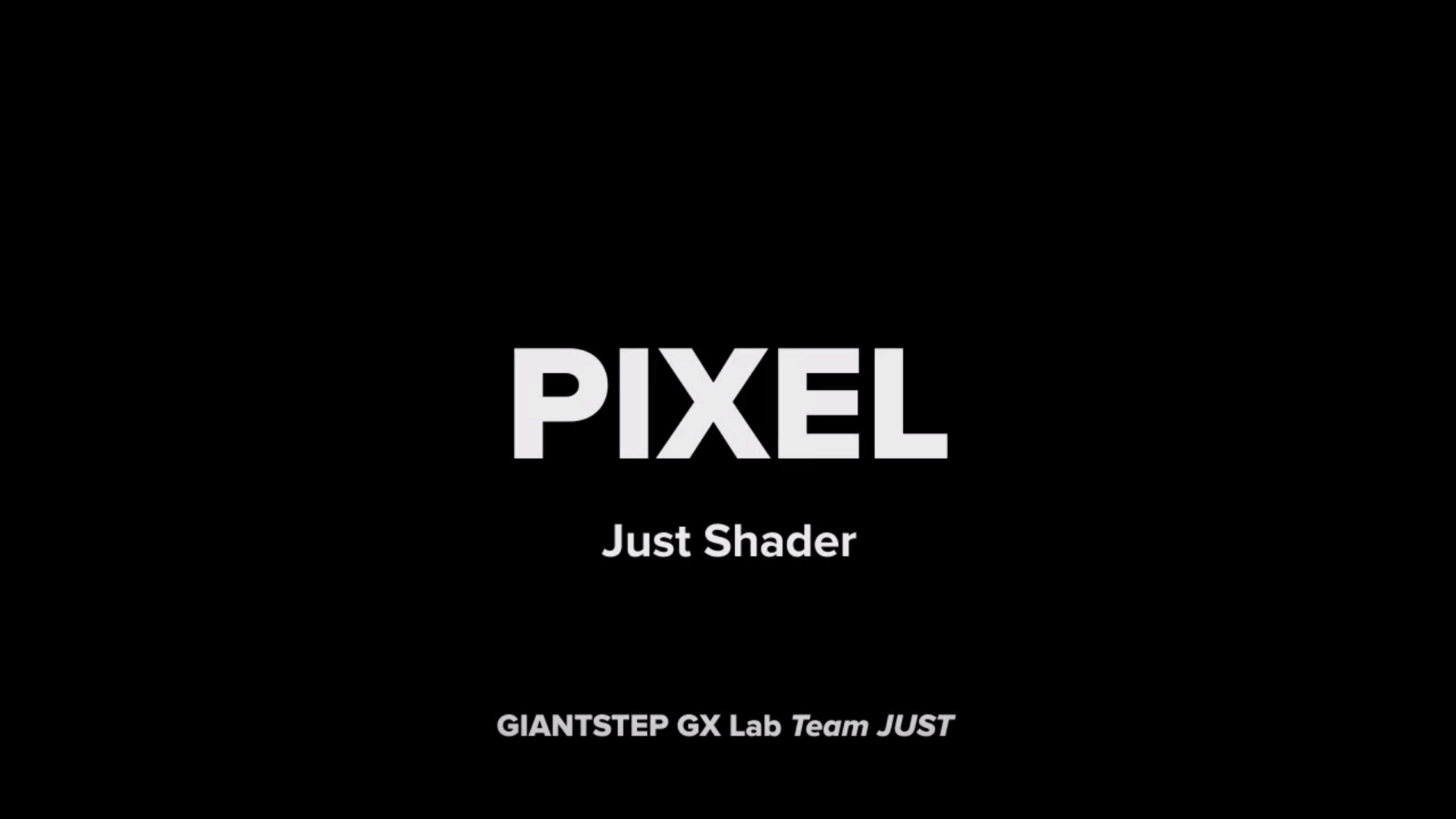 Just Shader 3rd - Pixel