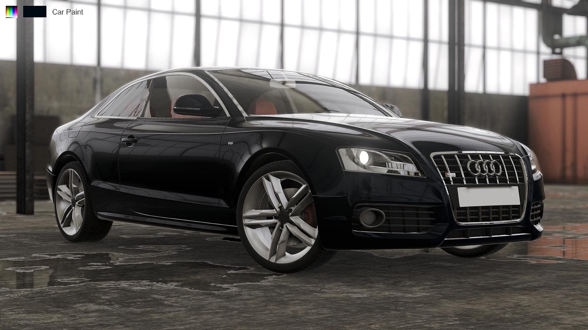 Visualization - Audi S5 2008