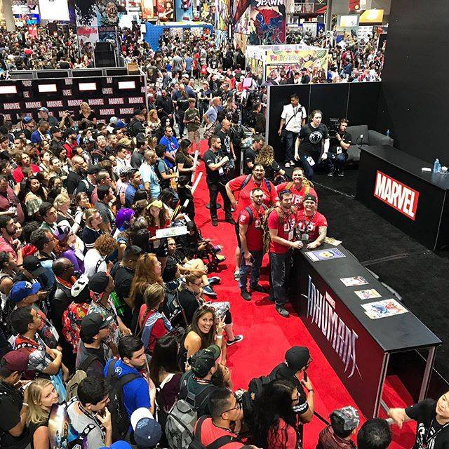 SIX FOOT GEEKS OUT AT SDCC 2017