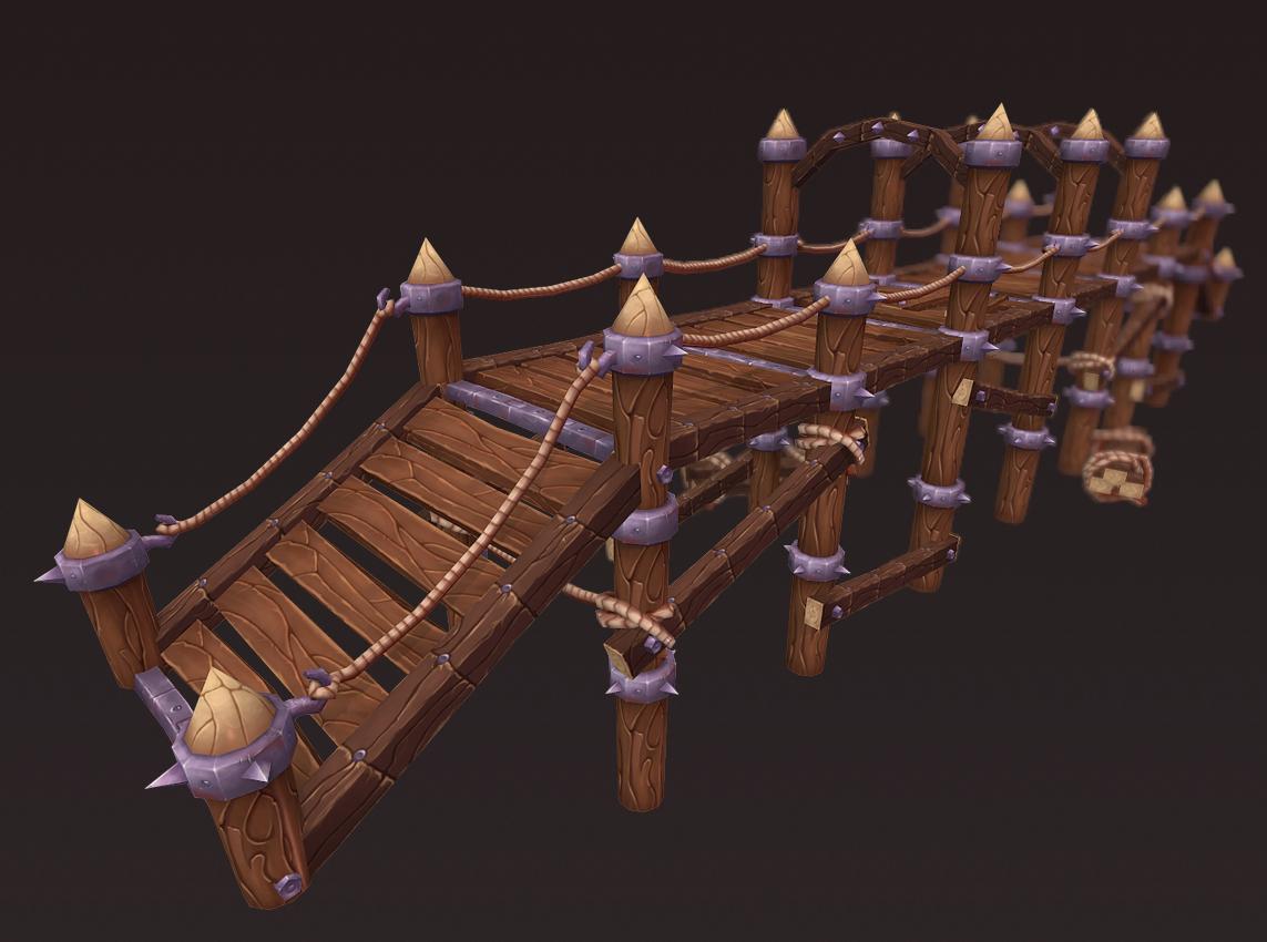 Big Wooden Bridge