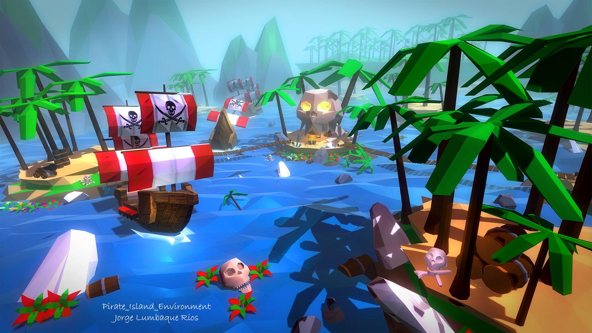 Pirate Island Environment