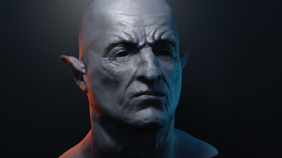 Game Character design - Digital Sculpting