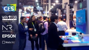 CES 2015 MX app for EPSON Moverio wearable device