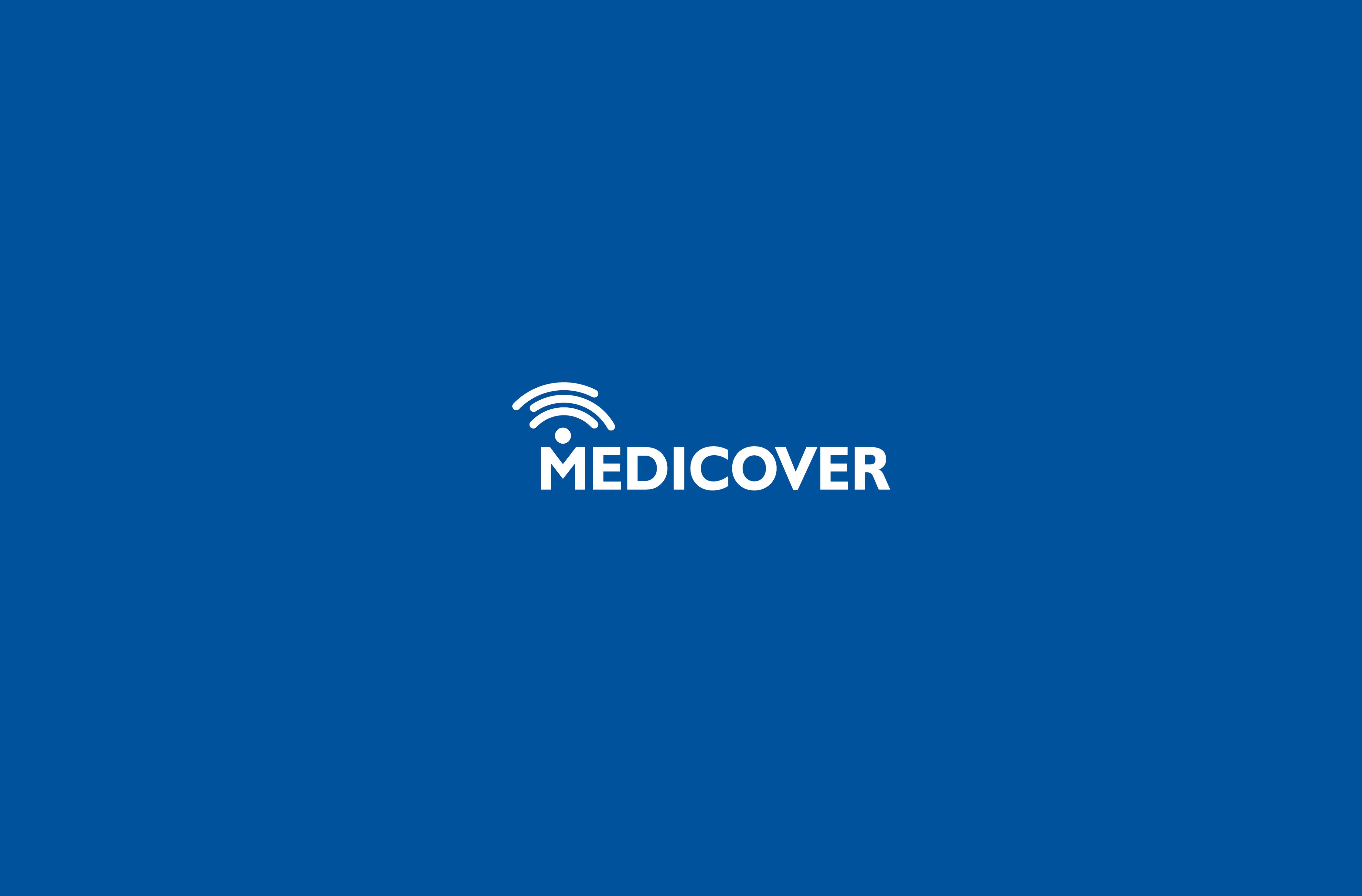 Medicover identity, app icons, interior standards