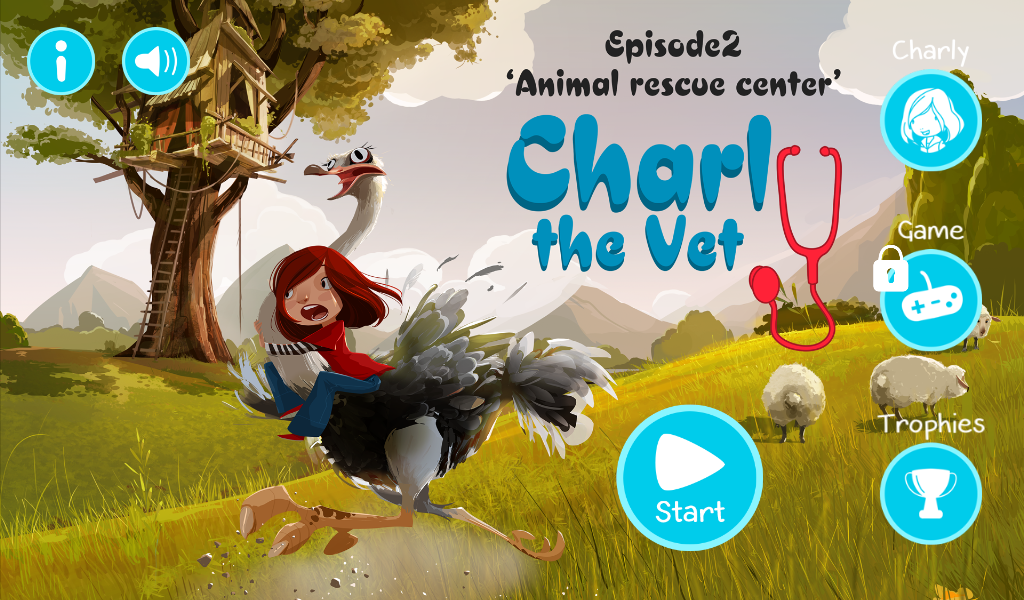 Charly the Vet: Animal Rescue Center