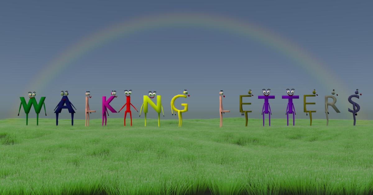 Walking Letters