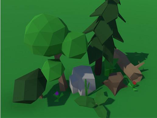 Low Poly Forest Package
