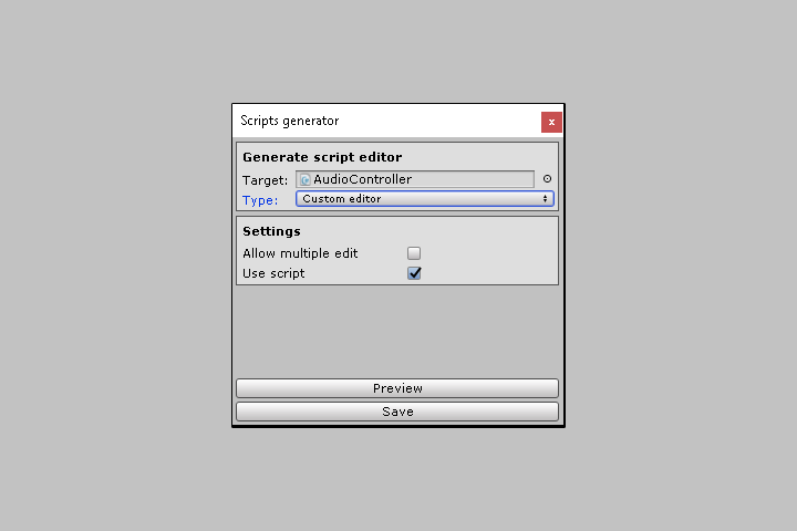 Unity Editor Extensions
