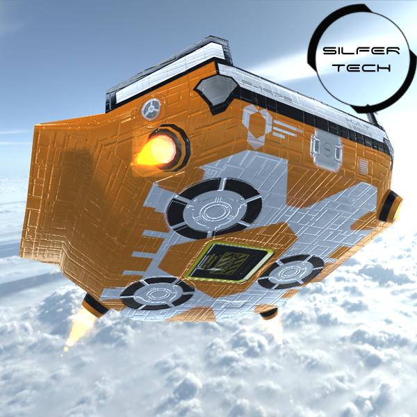 Sci-Fi Floating Platform
