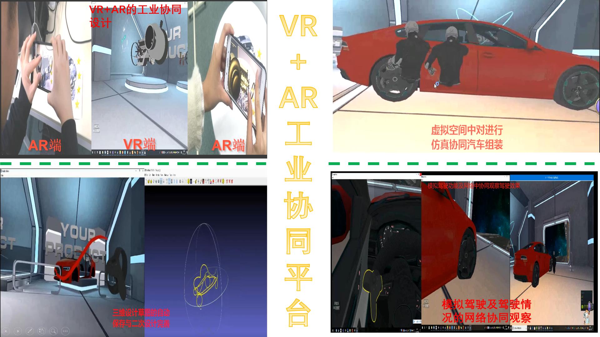 VR+AR工业协同平台