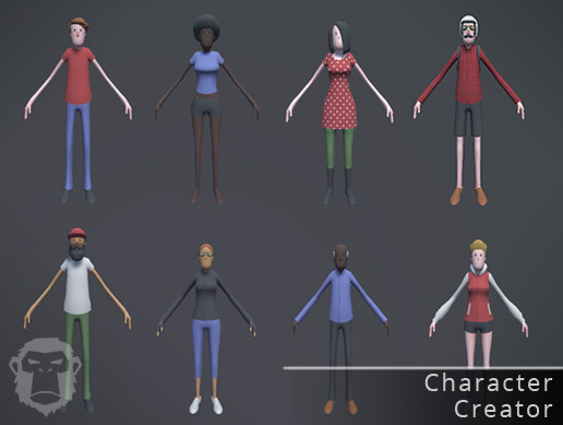 Character Creator (Unity Asset)