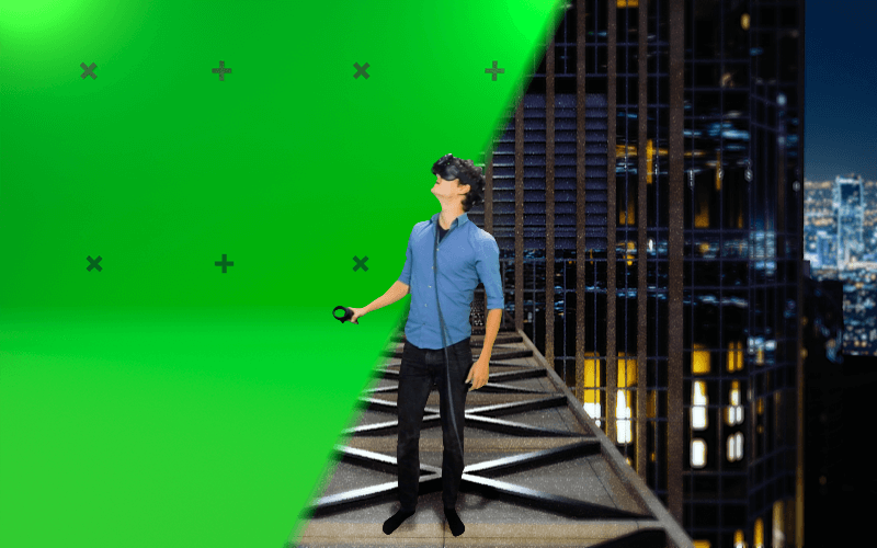Mixed Reality - Combining VR with a greenscreen