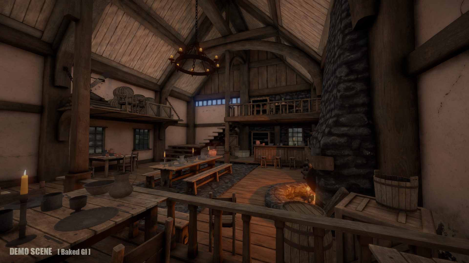Tavern Environment