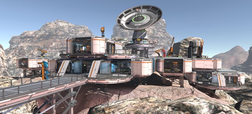 Scifi Level Kit 2
