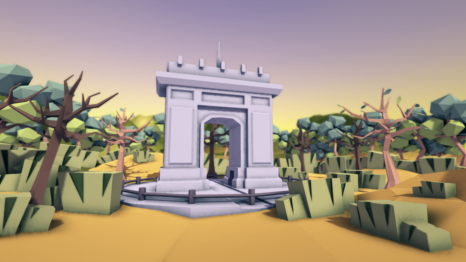 POLY STYLE - Vegetation Pack
