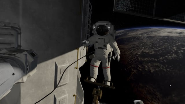 Thales Zero Gravity - VR experience