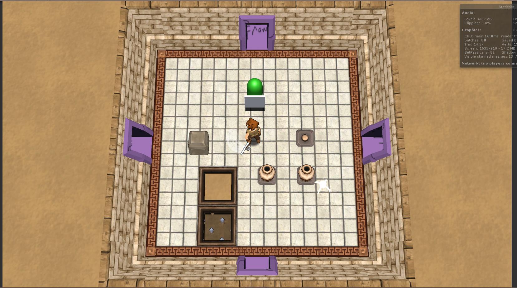 """[WIP] PuzzleRPG & """"Floorplan"""" level editor"""