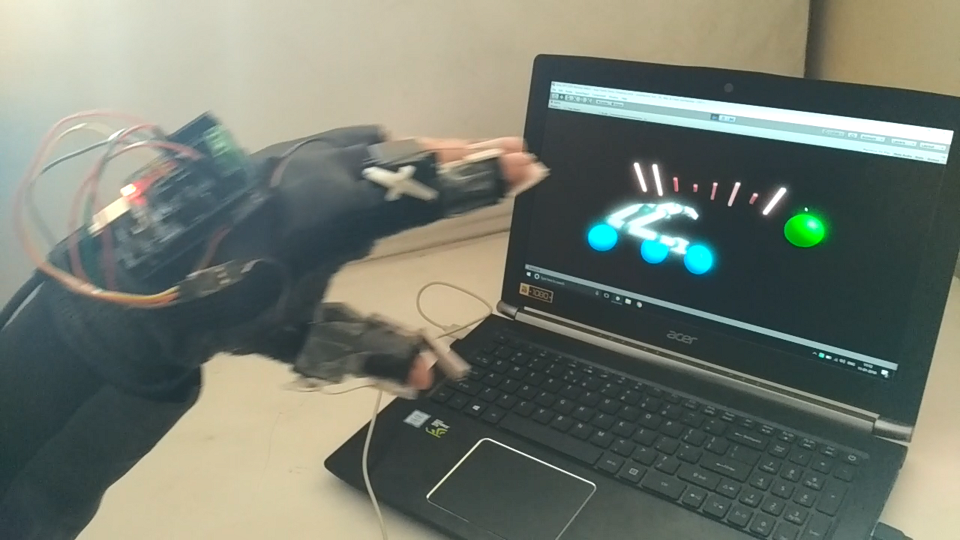 Haptic Feedback Glove