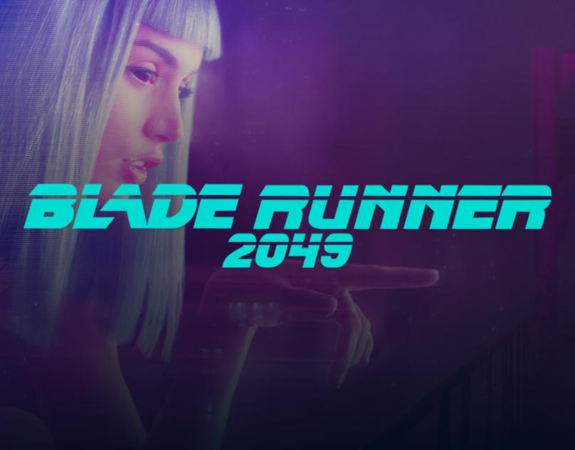 Blade Runner 2049- Concept Website Design