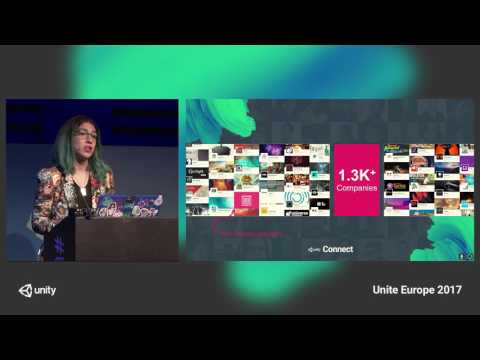 Unite Europe 2017 - Build your team with Unity Connect