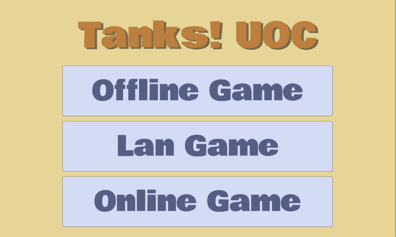 Tanks UOC