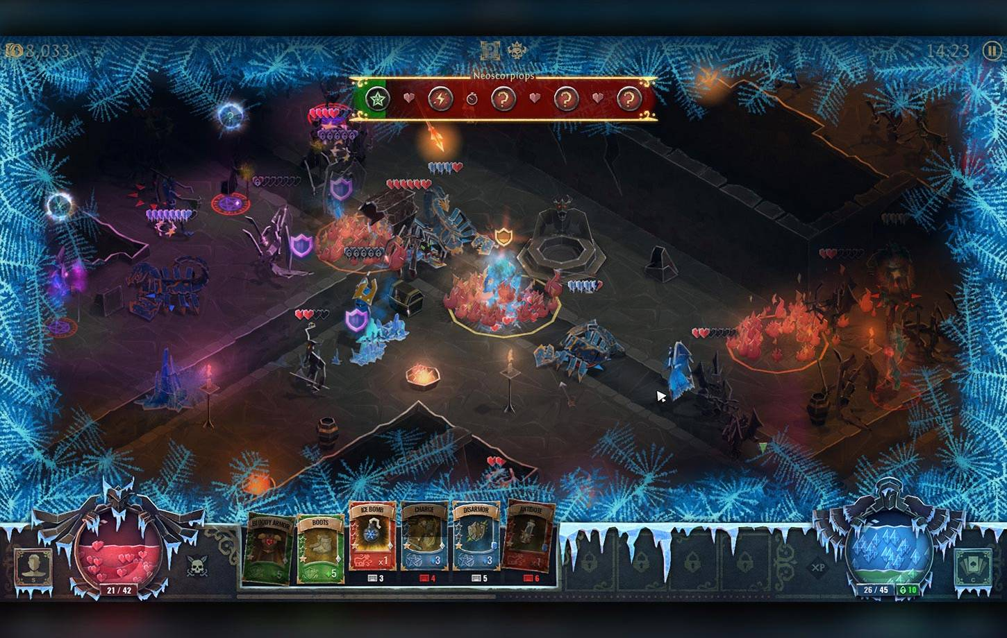 GUI for Book of Demons game