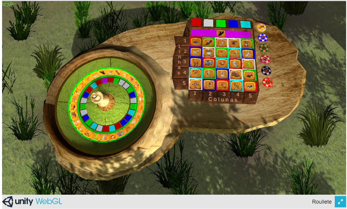 Unique roulette game