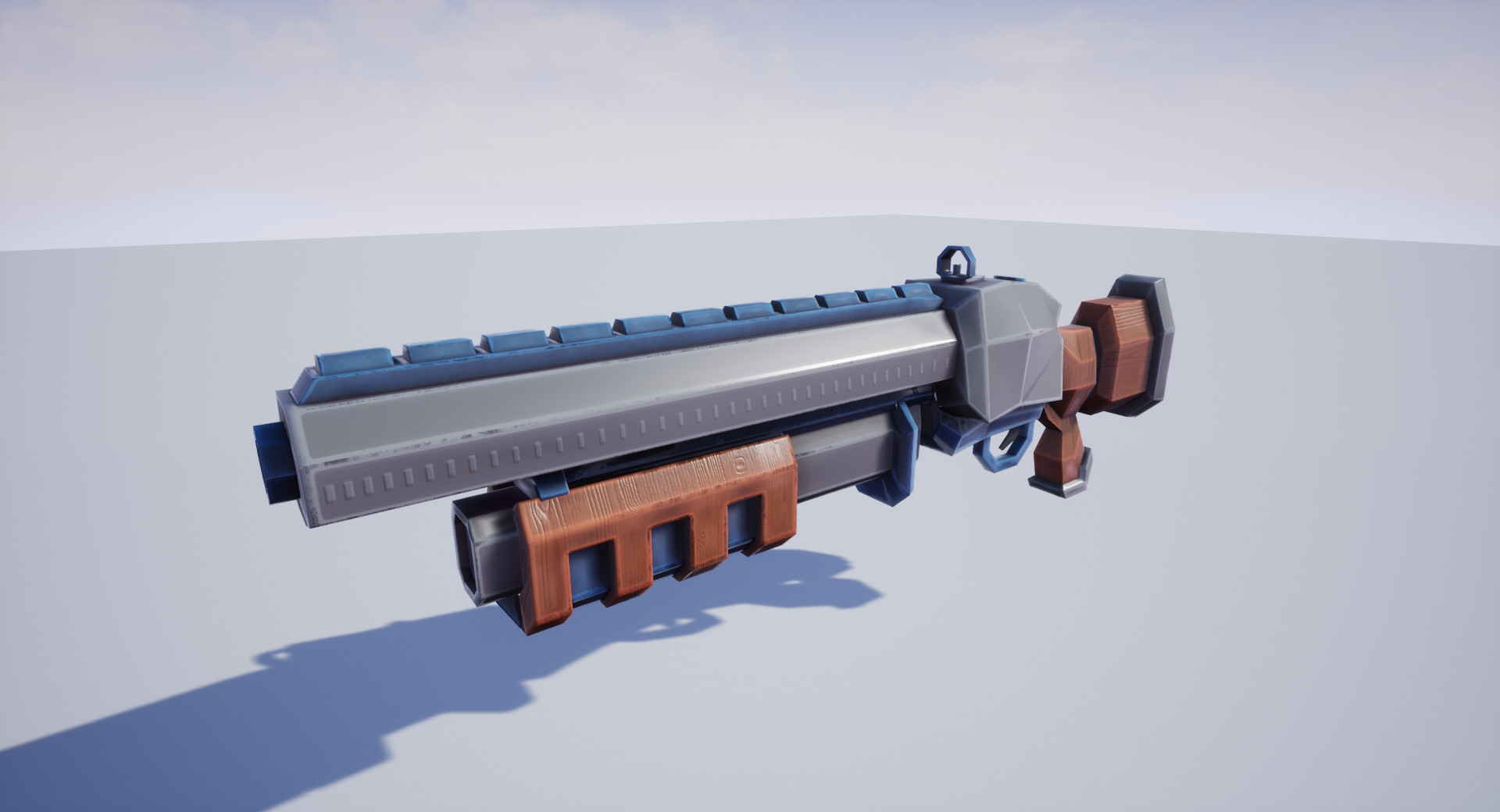 Stylized Heavy Shotgun