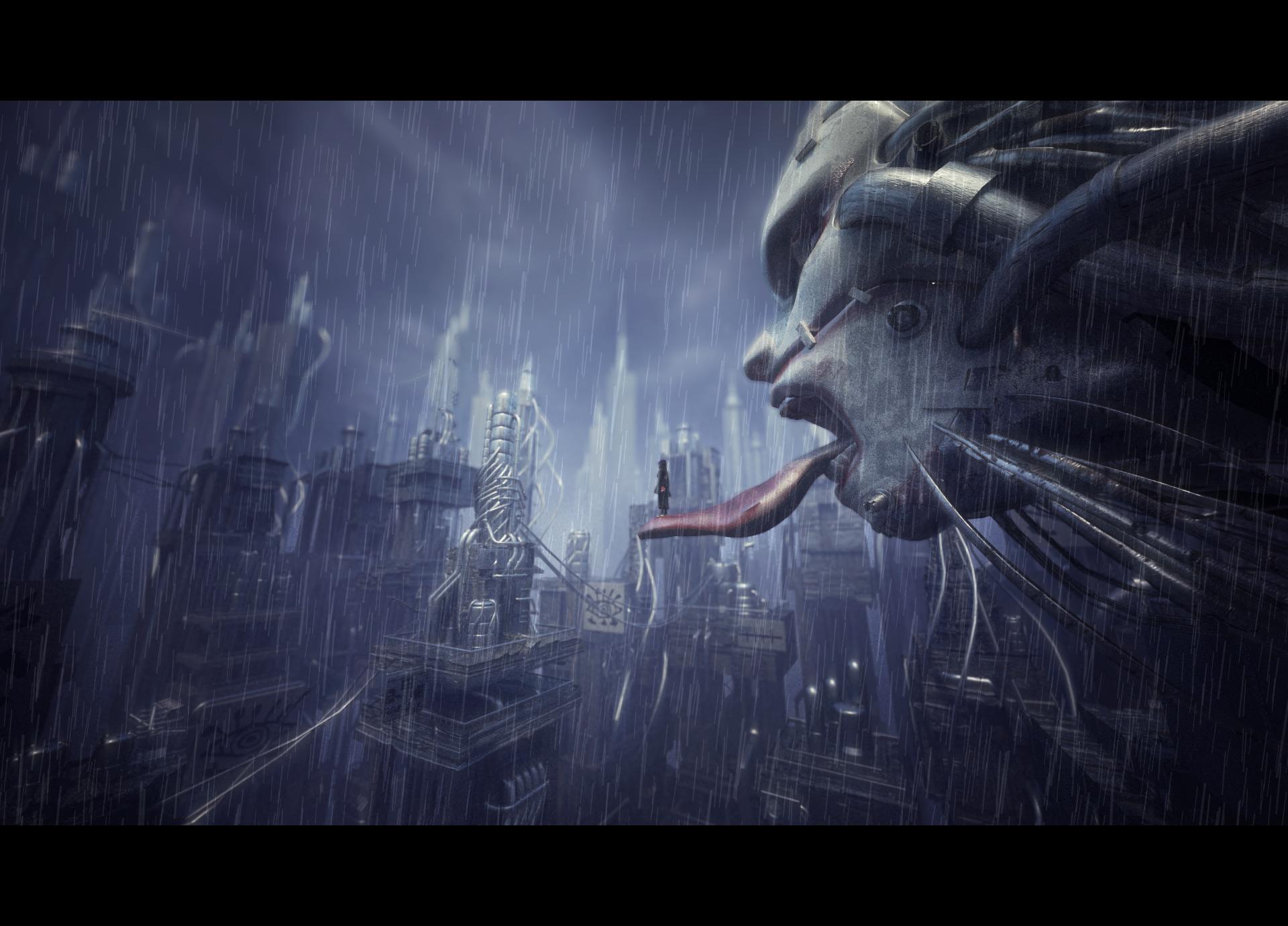 Konan in despair 雨隱村的眼淚