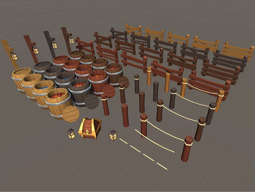 Low Poly Environment Props Pack